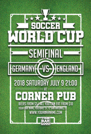 Euro Soccer World Cup Flyer Template