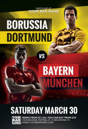 Soccer Champions League Flyer Template