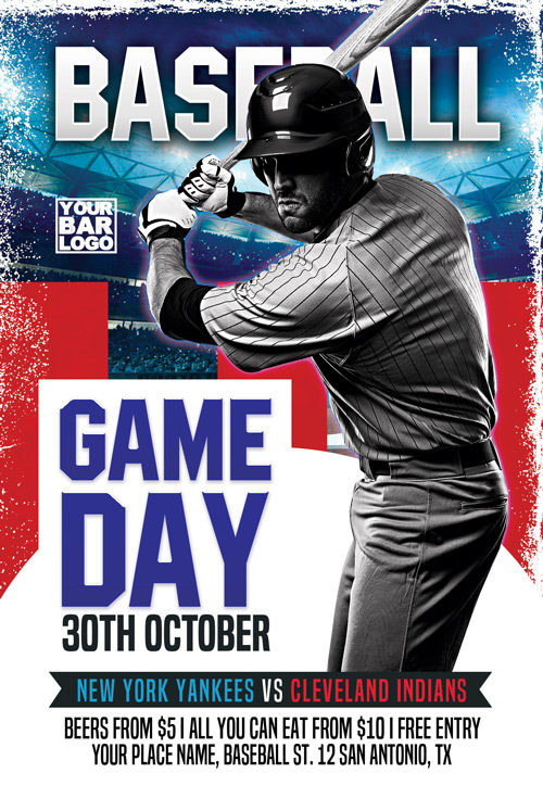 Baseball Game Day Vol 3 Flyer Template